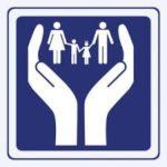 Hands of help sign